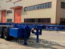 陆氏牌LSX9340TJZ型集装箱运输半挂车