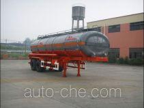 Lushi LSX9341GHY chemical liquid tank trailer