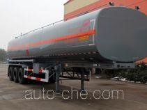 Lushi LSX9400GRYA flammable liquid tank trailer