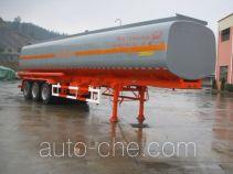 陆氏牌LSX9403GHY型化工液体运输半挂车