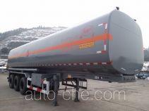 Lushi LSX9404GRYA flammable liquid tank trailer