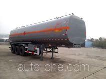Lushi LSX9406GRYA flammable liquid tank trailer