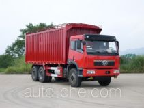 Nanming LSY5240XXYP1 soft top box van truck