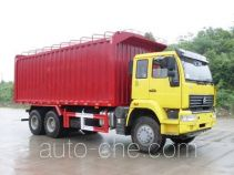 Nanming LSY5250XXYP3 soft top box van truck