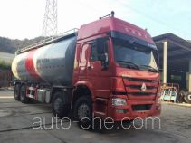 Nanming LSY5311GFLZZ low-density bulk powder transport tank truck