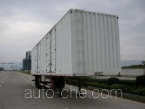 Nanming LSY9310XXY box body van trailer