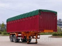 Nanming LSY9351XXYP soft top box van trailer