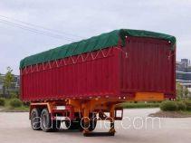 南明牌LSY9351XXYP型篷式运输半挂车
