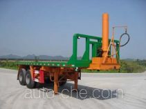 Nanming LSY9355ZZXP flatbed dump trailer