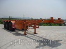南明牌LSY9400TJZ型集装箱运输半挂车