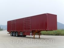 Nanming LSY9401XXY box body van trailer