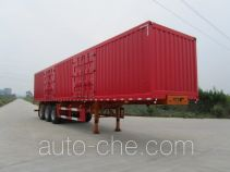 Nanming LSY9402XXY box body van trailer