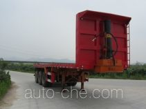 Nanming LSY9402ZZXP flatbed dump trailer