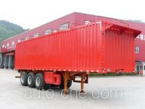 Nanming LSY9406XXYP soft top box van trailer