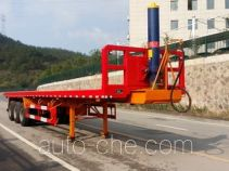 Nanming LSY9407ZZXP flatbed dump trailer