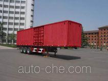 Dongfanghong LT9281XXY box body van trailer