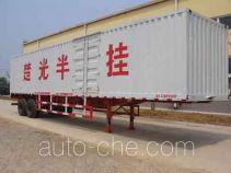 Chuguang LTG9191XXY box body van trailer