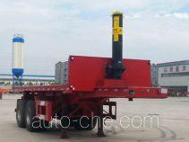 Liangtong flatbed dump trailer