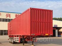 Liangtong LTT9400XXY box body van trailer