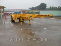 Haotong LWG9350TJZG container transport trailer