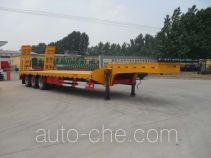昊统牌LWG9400TDP型低平板运输半挂车