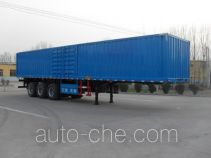 Haotong box body van trailer