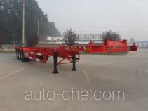 Haotong LWG9401TJZ container transport trailer