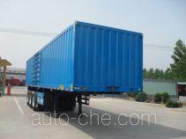 Haotong LWG9401XXY box body van trailer