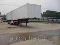 Haotong LWG9403XXY box body van trailer