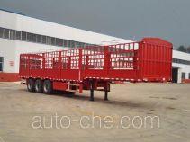 利源达牌LWY9400CCY型仓栅式运输半挂车