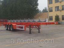利源达牌LWY9400TJZ型集装箱运输半挂车