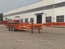 利源达牌LWY9400TJZE型集装箱运输半挂车