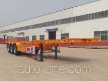 利源达牌LWY9401TJZE型集装箱运输半挂车