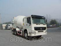 梁兴牌LX5252GJB型混凝土搅拌运输车