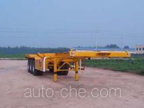 梁兴牌LX9400TJZ型集装箱运输半挂车