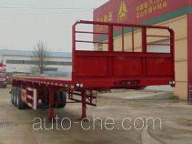梁兴牌LX9400TPB型平板运输半挂车
