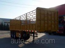 梁兴牌LX9402CCY型仓栅式运输半挂车