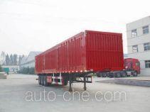 梁兴牌LX9402XXY型厢式运输半挂车
