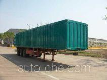 Xinghua box body van trailer
