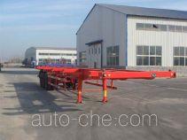 新科牌LXK9381TJZG型集装箱半挂牵引车