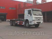 Jinwan LXQ5250ZXXZZ detachable body garbage truck