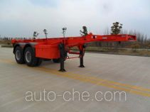 Jinwan LXQ9350TJZ container transport trailer