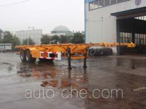 Jinwan LXQ9351TJZ container transport trailer