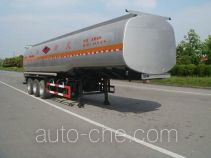 Jinwan LXQ9400GRYL1 flammable liquid tank trailer