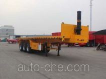 Jinwan LXQ9400ZZXP flatbed dump trailer