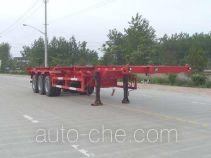 Jinwan LXQ9401TJZ container transport trailer
