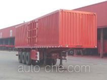 Jinwan LXQ9401XXY box body van trailer