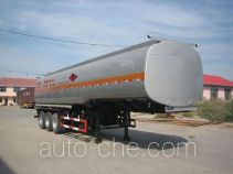Jinwan LXQ9402GRY flammable liquid tank trailer