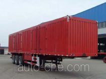 Jinwan LXQ9402XXY box body van trailer