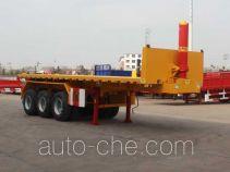 Jinwan flatbed dump trailer